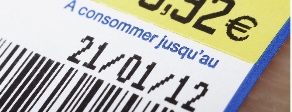 Etiquette de traçabilité avec date de péremption | Dataforms